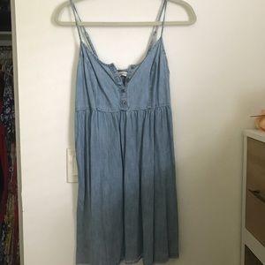 Boho casual jean dress